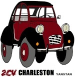 by yanstan • Citroën 2CV art