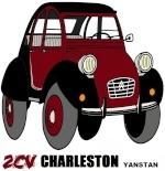 by yanstan • Citroën 2CV art