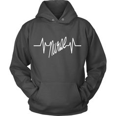 Not Found In Stores What Better Way to Show Off Your Pride and Importance as a Nurse Then With This Nurse Heartbeat Hoodie Makes a Perfect Gift for All Nurses View Sizing Chart