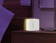 Ilmo Ahn designed night light switch. Or, night light light switch? Love!