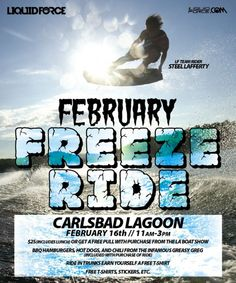 February Freezeride @ Carlsbad Lagoon   Wakeboarding Magazine