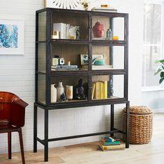 Curio Display Cabinet | West Elm