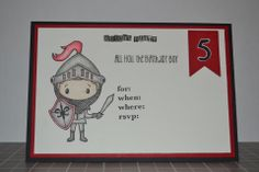 Invitations for a Knight Party