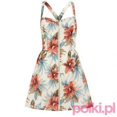 Sukienka w tropikalny wzór New Look