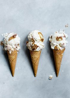Tiramisu Ice Cream: a mascarpone ice cream with coffee-soaked ladyfingers and fudge swirl.
