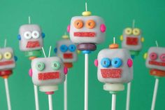 What's better than robot cake pops?  Calorie-free, mobile, robot cake pops! Make your own with Cake Pop Maker Pro available on PlayPass: https://play.google.com/store/apps/details?id=com.playpass.mainapp
