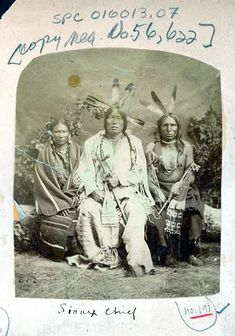 Photographers Hamilton & Hoyt owned a studio in Sioux City, Iowa. They took photographs of the 1872 Sioux delegation, which was also portraited by Alexander Gardner when they were in Washington D.C..