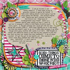 Brook's Templates - Duo 22 - Pebble by Brook Magee Girls Got Game Bundle by Libby Pritchett