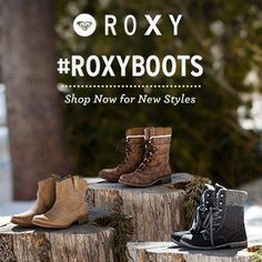 We're kickin' off our 30 day #RoxyBoots celebration with LOOKBOOK.nu a little early....  Today through October 24th we're offering 15% off select boot styles! Get the styles & code on Facebook.com/Roxy