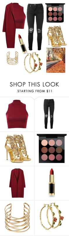 """""""Autumn vibes with friends❤"""" by maraaalexa ❤ liked on Polyvore featuring Pilot, AMIRI, Giuseppe Zanotti, MAC Cosmetics, Lafayette 148 New York, L'Oréal Paris and Disney"""