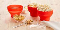 Olvida las palomitas de bolsa. Popcorn Recipes, Shape Coding, Popcorn Maker, Silicone Molds, Microwave, Fresh, Mini, Easy