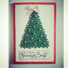 Kartka świąteczna- choinka