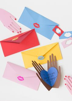 colorful valentine ideas