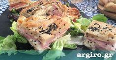 Ζαμπονοκασερόπιτα από την Αργυρώ Μπαρμπαρίγου | Μιά εύκολη, γρήγορη και οικονομική συνταγή που θα συναρπάσει όλη την οικογένεια!