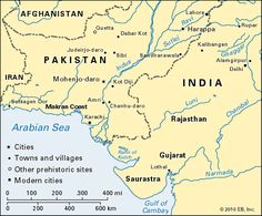 Indus Valley Sites Map   Google Search