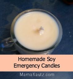 Homemade Soy Candles | Mama Kautz | #prepbloggers #diy #candles