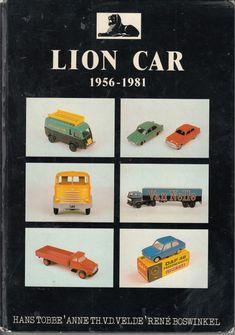 Over de modelautos van Lion  Car.  Boek uit 1991
