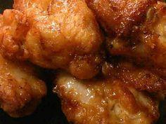 めっちゃジューシー♪鶏の唐揚げ 1.6 lb chicken with 倍量。大さじ2のめんつゆ& 大さじ1のしょうゆで。ごま油大さじ1 .