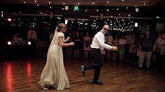 wedding dance with cardboard - YouTube