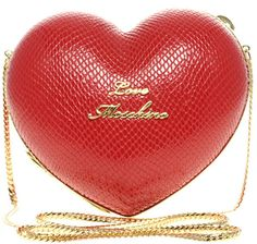 Love Moschino Heart Bag in Red
