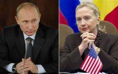 """Клинтон намерена «укреплять союзы» против Путина http://ukrainianwall.com/blogosfera/klinton-namerena-ukreplyat-soyuzy-protiv-putina/  Вероятный кандидат правящей Демократической партии США в президенты страны Хиллари Клинтон намерена """"укреплять союзы"""" США против России. Об этом она заявила накануне в интервью телекомпании PBS. На вопрос журналиста, """"а"""