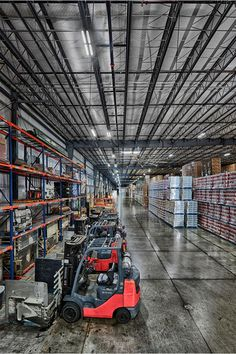 A complete package of Big Ass Light LEDs transformed United Warehouse's Tulsa facility. Now there's not one light at the location that's not Big Ass. Utility rebates handled by Big Ass Light made the upgrade affordable, and best of all, United Warehouse is saving up to $10,000 a month in energy costs now that the metal halides are history.