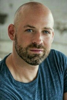 Shaved Head With Beard, Bald With Beard, Bald Man, Bald Men With Beards, Beards And Mustaches, Beard No Mustache, Beard Styles For Men, Hair And Beard Styles, Bald Men Style
