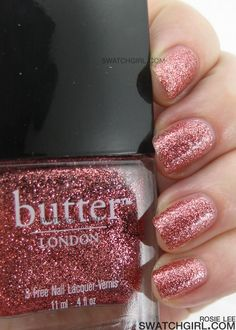 Glitter polish without the 3 biggest toxins might be as good as a girl can get. Plus the glitter polishes offer COMPLETE coverage in 2 coats or less (my OPI = 9-10 coats). Worth every penny @ $14.00.