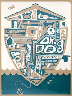 Dr. Dog has some pretty sweet posters.