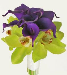 Natural Touch Roses Bouquet with Silk Callas and Orchids