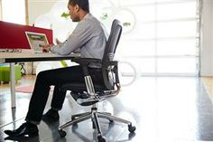 Haworth Zody Task Chair.  The first and only chair in the market endorsed by the American Physical Therapy Association.