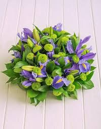 iris flower arrangement - Google Search