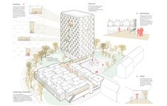 High Rise * Flat Rent - einszueins Flat Rent, Vienna, Projects, Studio, Green Zone, Home Technology, Landscape Diagram, Study, Studios