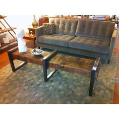Beam coffee table or bench 6 feet long.