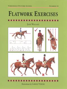 Threshold Picture Guide No. 23 Flatwork Exercises by Jane Wallace   Quiller…