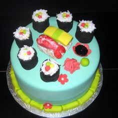sushi wedding cake uk sushi cakes etc on sushi cake sushi and groom 20663