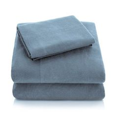 Alwyn Home Flannel 82 Thread Count Cotton Sheet Set Size: Queen, Color: Pacific Silk Sheets, Queen Sheets, 100 Cotton Sheets, Cotton Sheet Sets, Extra Deep Pocket Sheets, Egyptian Cotton Sheets, King Sheet Sets, Flannel