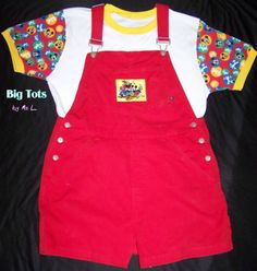 "Adult Baby Disney Mickey Mouse Shortalls Snap Shirt Set 45"" Hip MSL Big Tots 