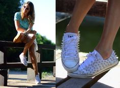 AT THE LAKE (by Mireia MDS) http://lookbook.nu/look/3704839-AT-THE-LAKE  craziest all stars!