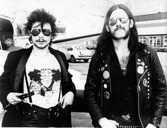 Philthy Animal and Lemmy Kilmister, 1979.