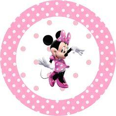 Imprimibles de Minnie Mouse 5. Fiestas infantiles.|¡Disfrutando en mi hogar!