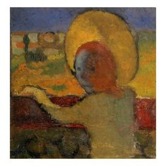 Maurice Denis - At the Train Window Maurice Denis, Avant Garde Artists, Post Impressionism, Color Studies, Frames On Wall, Abstract Art, Creations, Fine Art, Artwork