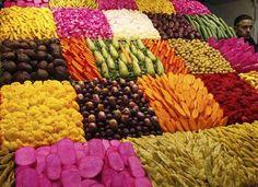 Pickled vegetables in Damascus