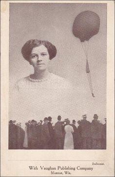 Female Parachute Balloonist , MONROE , Wisconsin , 00-10s