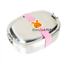Finest Stainless Steel Bento Lunch Box 2 Containers Deluxe set