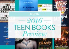 For teen readers (and wannabe-kids at heart), 2016 offers exciting new young adult books from beloved authors and debuts destined to create lifelong fans.