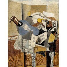 GEORGES BRAQUE The Blue Mandolin (1930)