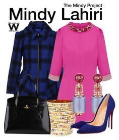 """The Mindy Project"" by wearwhatyouwatch ❤ liked on Polyvore"