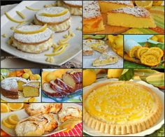 Raccolta dolci con il limone ricette