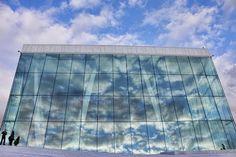 Sky Canvas  Oslo Opera House in Oslo, Norway    空のキャンバス  ノルウェー、首都オスロ  オスロオペラハウス Oslo Opera House, Skyscraper, Multi Story Building, Architecture, Arquitetura, Skyscrapers, Architecture Design
